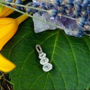 Sterling Silver Pendant with Crystal Quartz